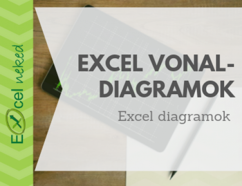 Excel vonaldiagram létrehozása egyszerűen