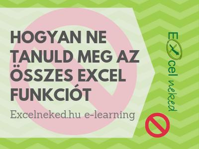 Excel feladatok