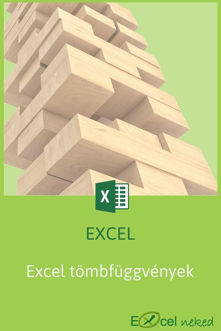 Excel tömbfüggvények