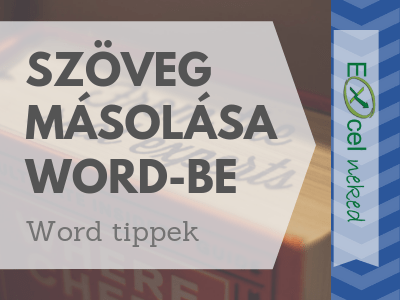 szöveg másolása word-be