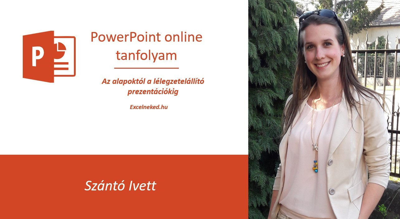 Excelneked online PowerPoint tanfolyam