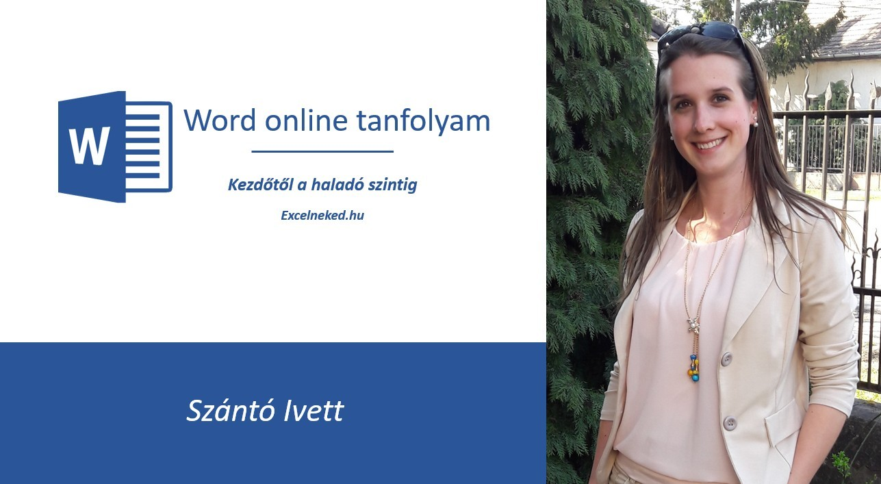 Excelneked online Word tanfolyam