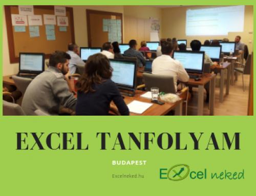 Excel tanfolyam Budapest