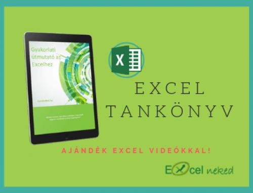 Excel tankönyv