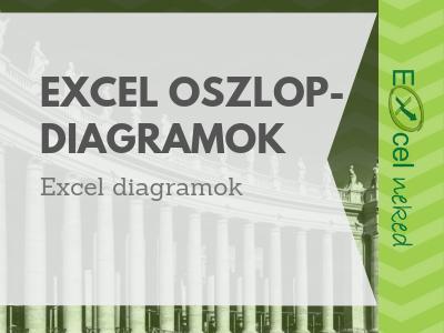 Excel oszlopdiagramok