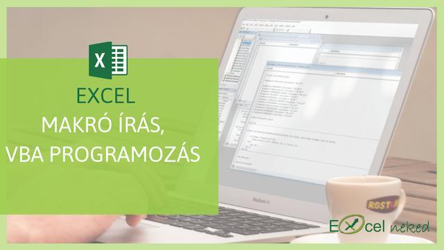 Excel makró tanfolyam