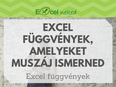 Excel függvények
