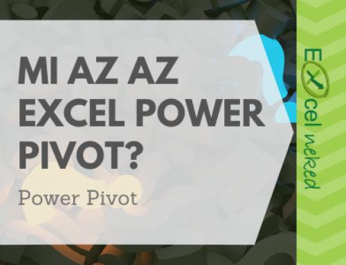 Mi az az Excel Power Pivot? – Ismertető