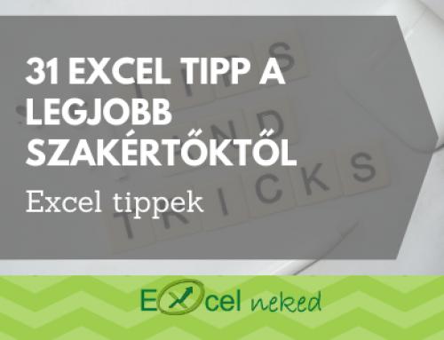 Legjobb 31 Excel tipp nemzetközi szakértőktől 2020-ban